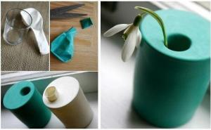 Make a stylish vase in few seconds