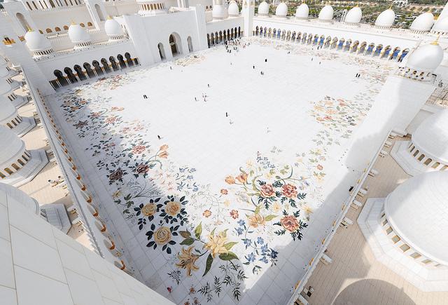 Sheikh Zayed Grand Mosque Avirat Group