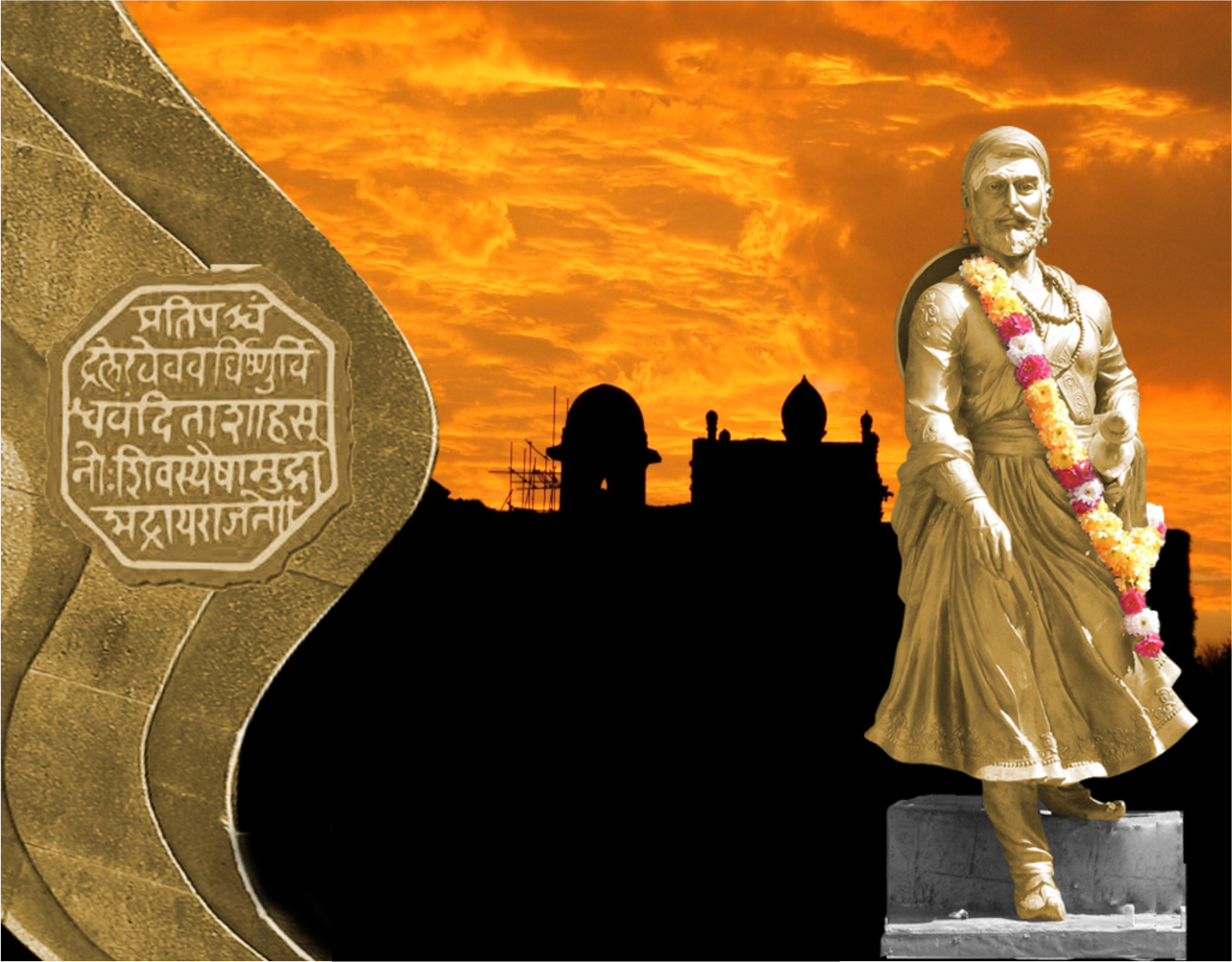 Chhatrapati Shivaji Maharaj India Avirat Group Math Wallpaper Golden Find Free HD for Desktop [pastnedes.tk]