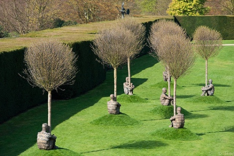Juame Plensa @ Yorkshire Sculpture Park