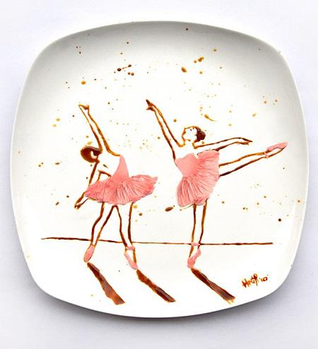 Chocolate Ballerinas