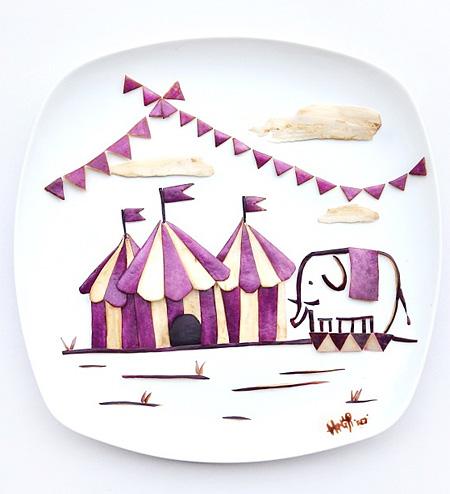 Eggplant Circus