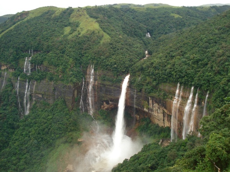 Waterfall @ Shillong, Meghalaya. India.