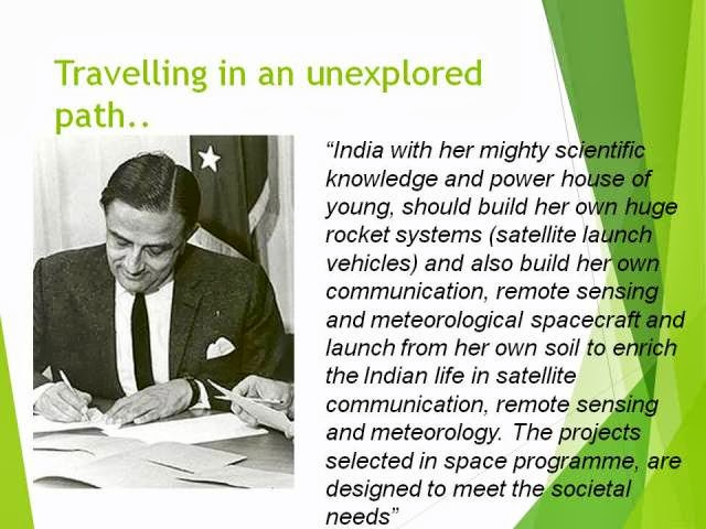 Vikram Sarabhai, the father of the Indian Space Program passed away 45 years ago